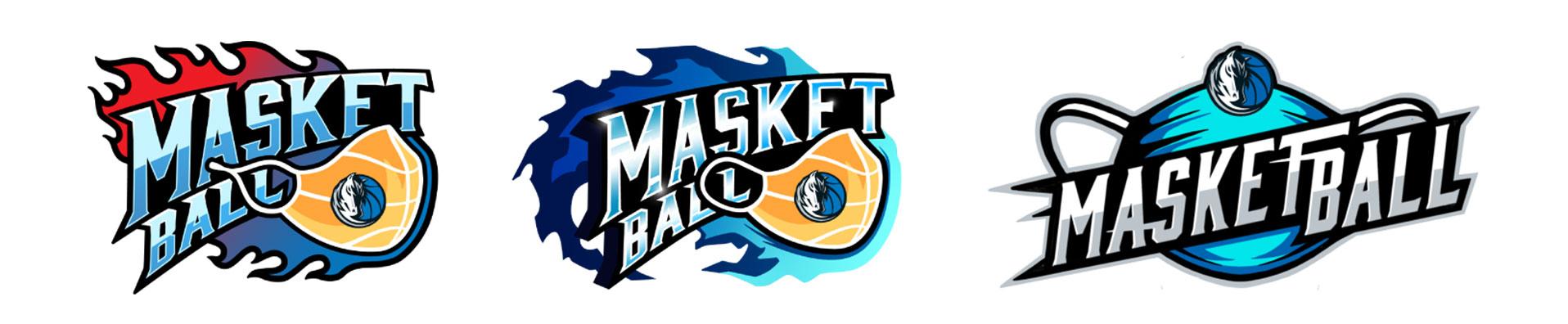 Dallas Mavs Masketball logo