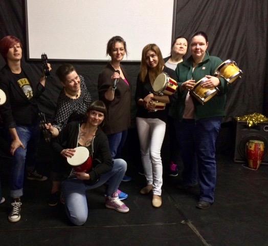 Trommel Workshop für die Dobeq