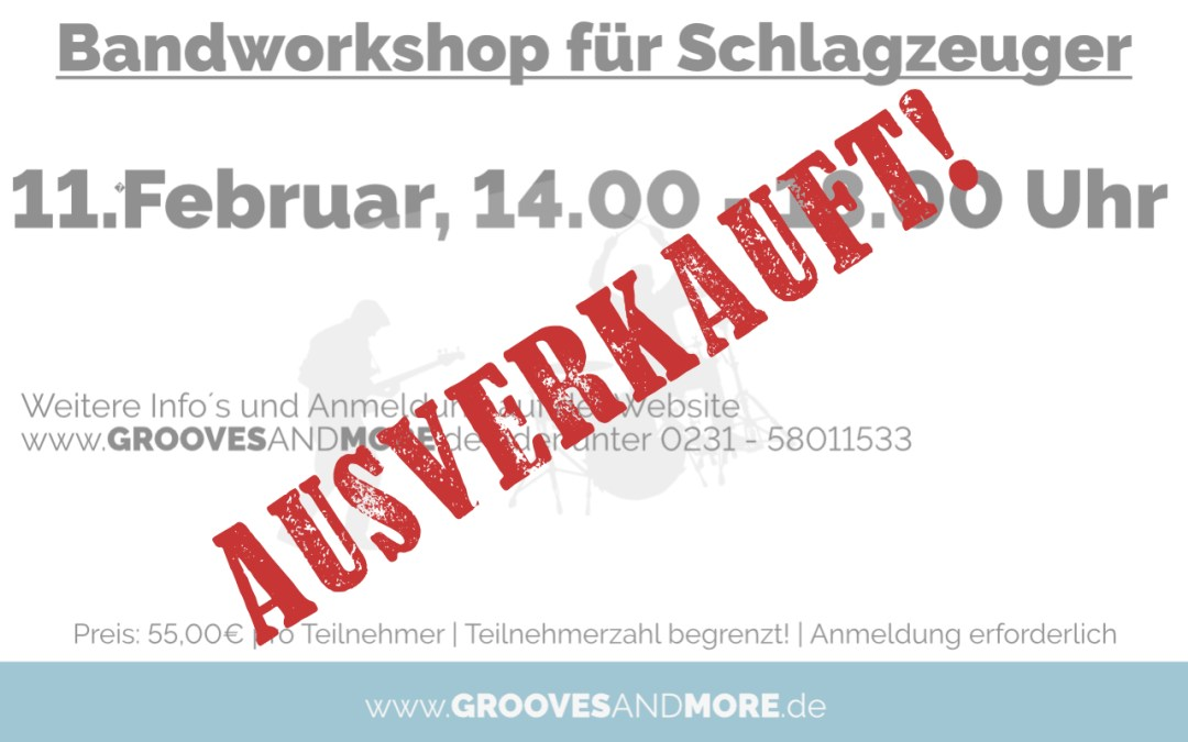 Bandworkshop im Februar