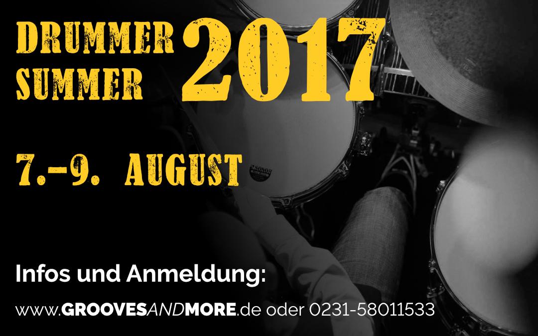 Drummer Summer 2017 – 3 Tage Intensiv Workshop