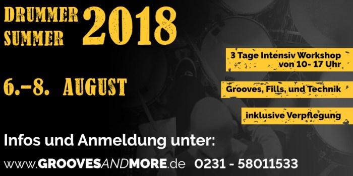Drummer Summer 2018