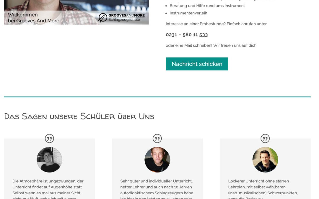 Website Relaunch, Blogserie und Social Media