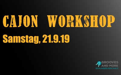 Cajon Basics Workshop 2019