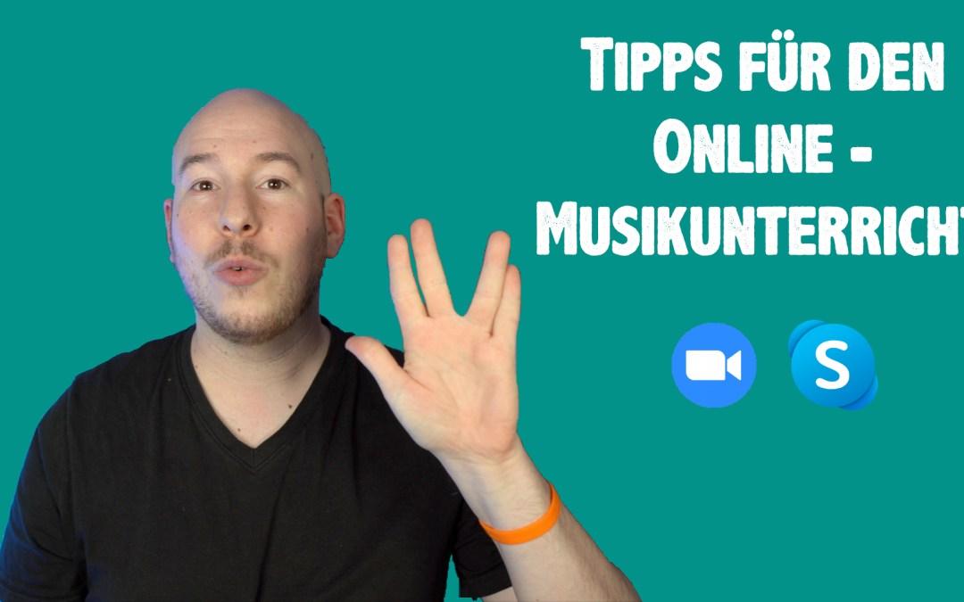 Tipps für den Online Schlagzeugunterricht