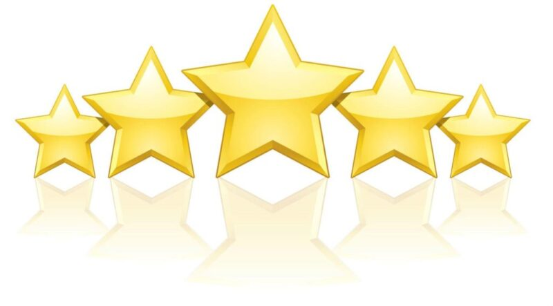 5 star google reviews 1024x567 1 • photo booth hire