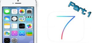 ios7 step by step for beginners_part 1