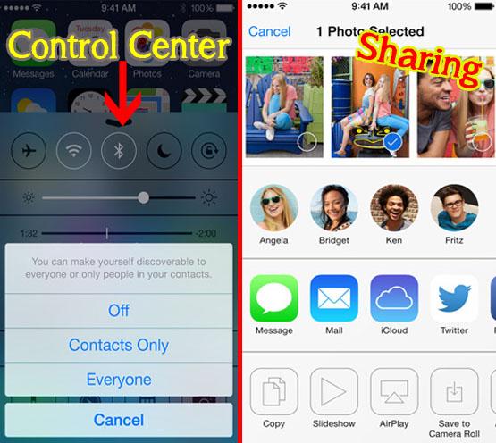 ios7 airdrop feature_via apple