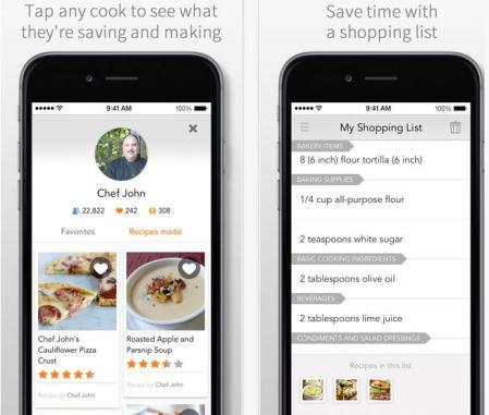 all recipes dinner spinner app