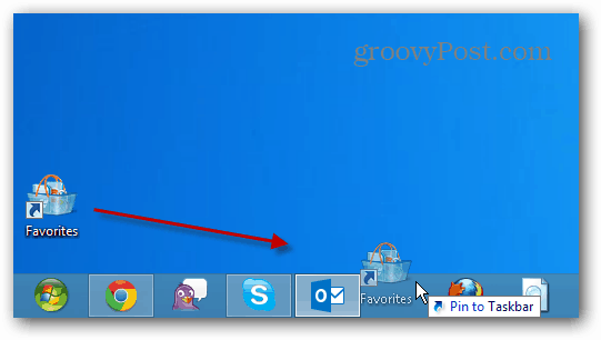 How to Create Desktop Shortcut to Favorites in Windows 7 and 8