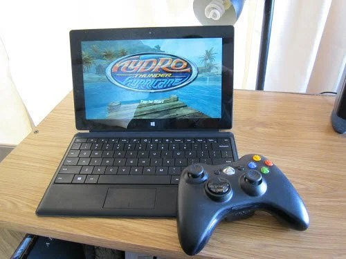 Use An Xbox 360 Controller With Surface RT Games