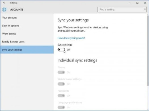 PC Syncing
