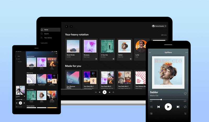 Spotify премиум-комплект