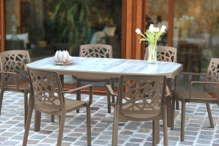 mobilier de jardin contemporain salon