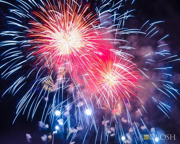 Fireworks Pop-Up Drop Backdrop - POP0013 - Grosh Backdrops