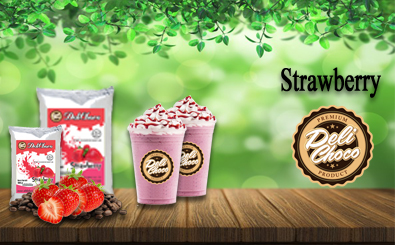 jual bubuk minuman strawberry