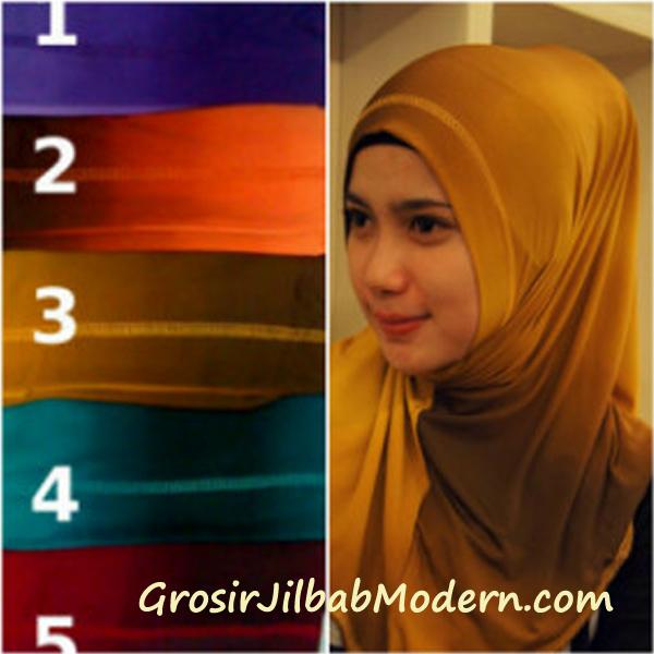 Jilbab Syria Gradasi Non Glitter