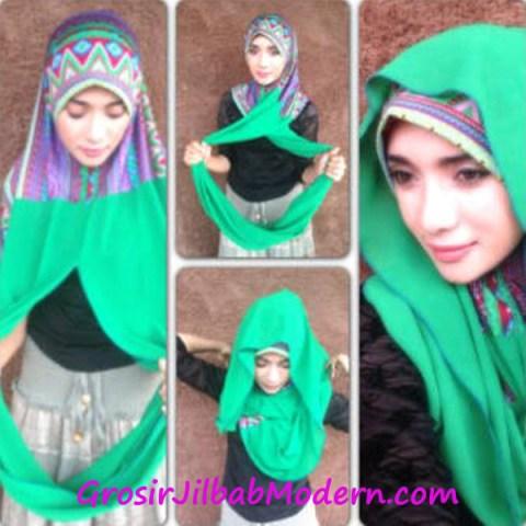 Cara Pakai Sharon Hijab