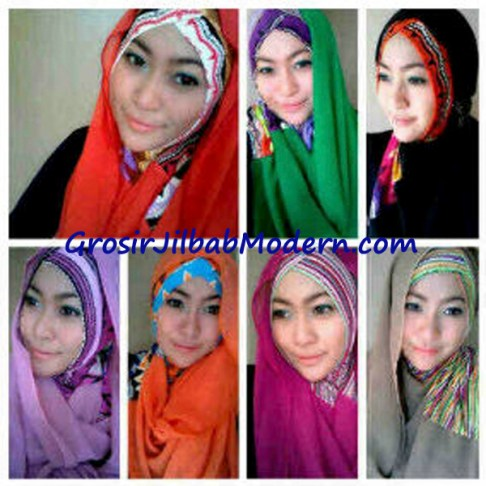 Jilbab Sharon Tribal Series