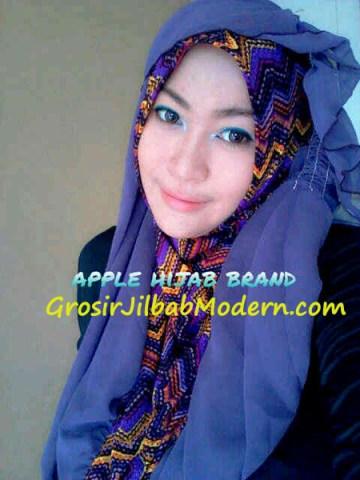Jilbab Beverly Hoodie Ungu Lavender