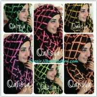 Jilbab Danica Hoodie Square Colour Series