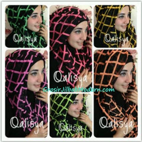 Jilbab Danica Hoodie Square Colour Series