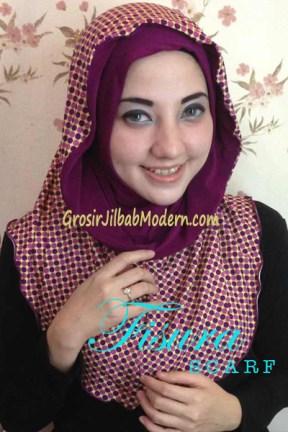 Jilbab Hoodie Laluna Series no 6