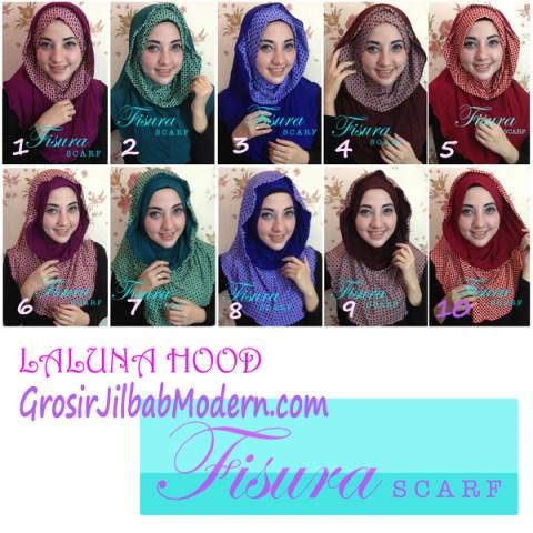Jilbab Hoodie Laluna Series