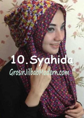 Jilbab Hoodie Ozle Bolak Balik no 10
