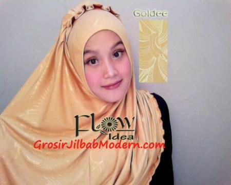 Jilbab Syria Goldee Seri 2 Kuning