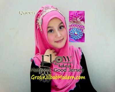 Jilbab Syria Queen Pink