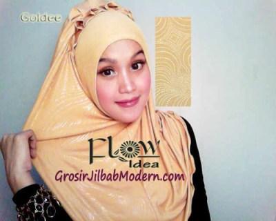 Jilbab Syria Goldee 1 Kuning