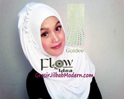 Jilbab Syria Goldee 1 Putih