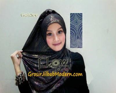 Jilbab Syria Goldee Hitam