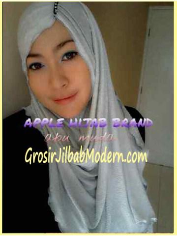 Jilbab Pashmina Kombinasi Syria Great PashSyr Abu Muda