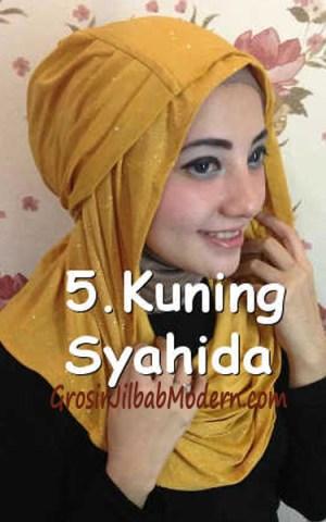Jilbab Zura Hot Blink Hoodie no 5. Kuning