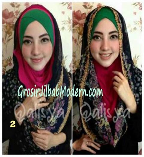 Jilbab Hoodie Instant Ileana No 2
