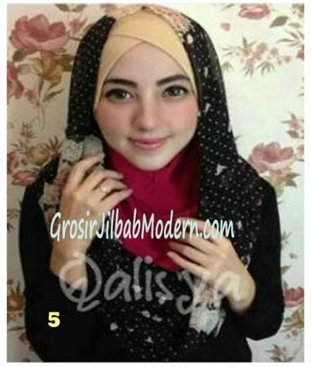 Jilbab Hoodie Instant Ileana No 5