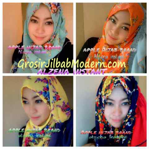 Jilbab Instant Alzena Series
