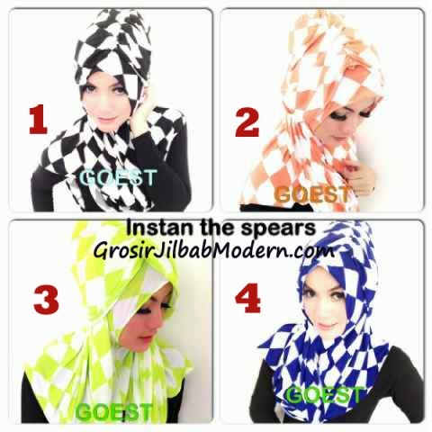 Jilbab StripTurban Kotak Series By Goest