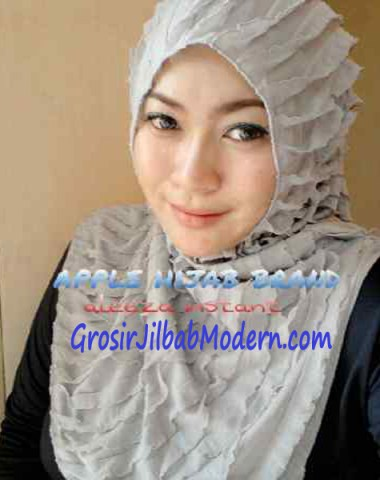 Jilbab Syria Aleeza Ruffle Abu Muda