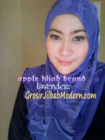 Jilbab Syria Instant Esklusive Aleeza Lavender