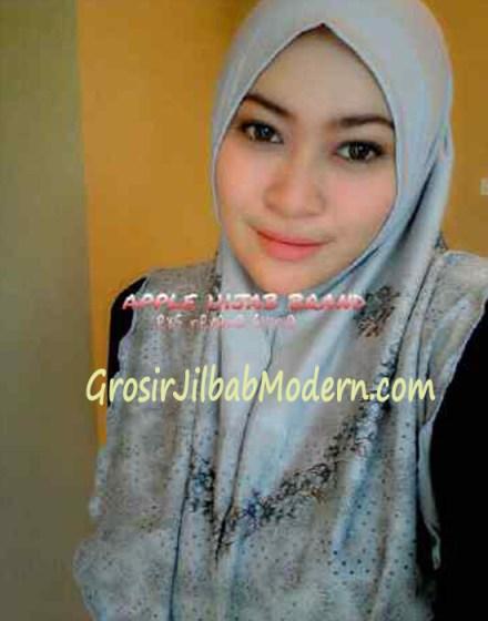 Jilbab Syria Nerena Silver