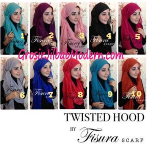 Jilbab Twisted Hoodie series
