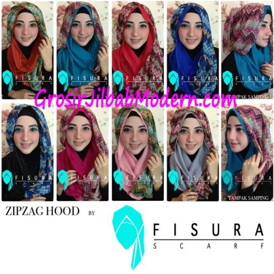 Jilbab ZipZag  Hoodie Series