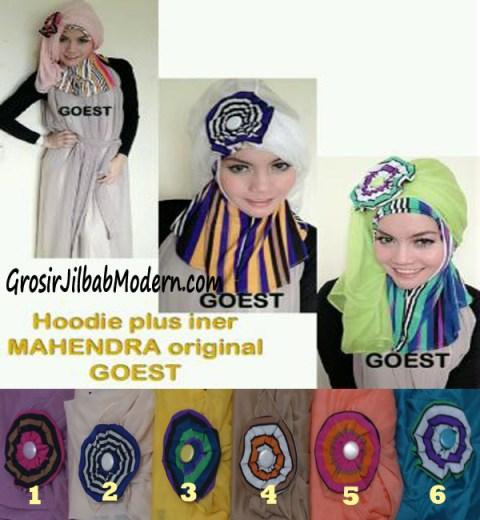 Jilbab Hoodie Instant Mahendra Series