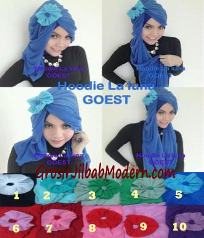 Jilbab Hoodie Laluna Moscrep Series