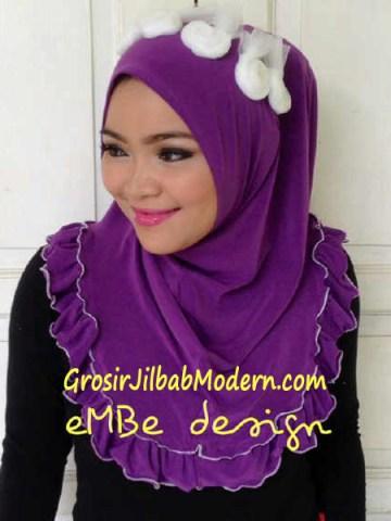 Jilbab Instan Little Queen No 4