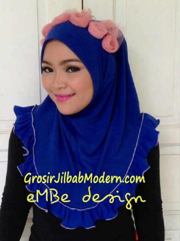 Jilbab Instan Little Queen No 5