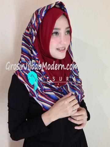Jilbab Syria Najwa No 11 Marun