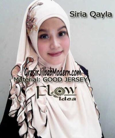 Jilbab Syria Qayla Cream